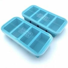 Souper Cubes® Freezing Tray With Lid 2-Pack