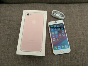 Apple iPhone 7 - 32GB - Rose Gold - Unlocked - Boxed - **EXCELLENT CONDITION**