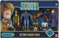 """Scooby Doo SCOOB Set of 6 Articulated Figures Figurines Figure Pack 5"""" Tall"""
