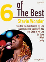 Six Of The Best: Stewie Wonder Piano, Vocal & Guitar Sheet Music Artist Songbook