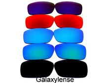 Galaxy Replacement Lenses For Oakley Crankcase Black&Blue&Green&Red&Purple 5Pair