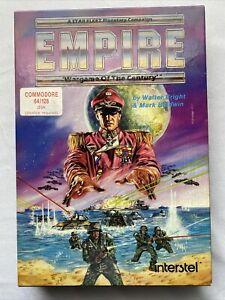 Empire Wargame of the Century Commodore 64/128 Software C64 C128 1988 Interstel