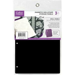 """Crafter's Companion 8.25""""X5.5"""" Magnetic Storage Panels 3/Pkg CC-MAGSTOR-SM3"""