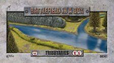 Battlefield in a Box Tributaries 15mm 28mm 35mm Gelände Fluss Tabletop Terrain