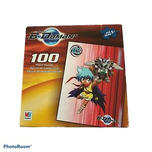 Battle B-Daman 100 Piece Puzzle Ages 5+ MB Puzzle New in box