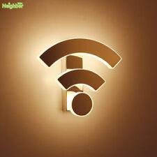 Modern Creative WIFI Logo Wall Lamp bedroom bedside LED Acrylic Lighting sconce