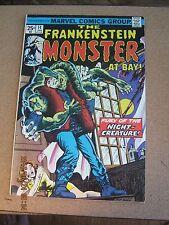 Frankenstein # 14 - Marvel January 1975 - The Night Creature Moench / Mayerik  K