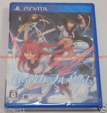New PS Vita Aokana Ao no Kanata no Four Rhythm Across the Blue Japan PlayStation