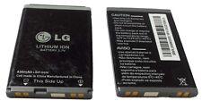 2x Lg KE360 KG120 KG290 KG291 KG298 KP202I Cellphone Battery 830mah LGIP-G830