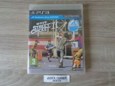 Move Street Cricket II 2  PS3 Game - NEW & SEALED - 1st Class FREE UK POSTAGE