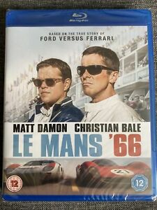 Le Mans '66 NEW SEALED BLU RAY