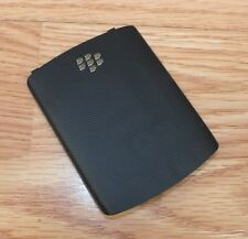 *Replacement* Black Battery Cover / Door Only For Blackberry 9300 Cell Phone
