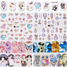 12Patterns Nail Water Decals Stickers Transfer Nail Art  Decoration DIY