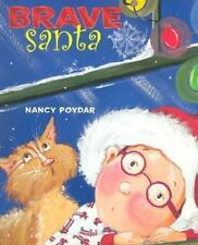 (NEW) BRAVE SANTA (Hardcover, 2004) *Colorful Holiday Classic, Christmas Funny