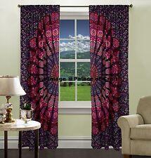 Indian Handmade Boho Decorative Mandala Curtains Wall Hanging Drape Room Divider