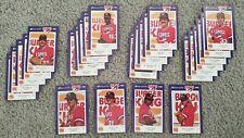 1985 Huntsville Stars Minor League Complete 25-Card Team Set - Jose Canseco