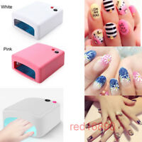 36W Pro Nail Art Dryer Manicure UV Gel Polish Curing Light Drying Machine 4 Lamp