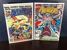 Marvel Comic Lot AVENGERS ANNUAL #19 (1990) Thor Captain America Iron Man 1