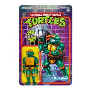Super7 Teenage Mutant Ninja Turtles ReAction Action Figure Michelangelo