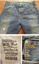 Double RL RRL Ralph Lauren Japanese Selvedge Denim Jeans Size 38X34 Real Deal