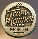"""Domino's Pizza TEAM MEMBER OF THE MONTH approx 1"""" Hat pin"""