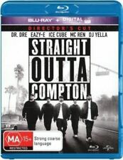 STRAIGHT OUTTA COMPTON New Blu-Ray + UV DR. DRE ICE CUBE ***