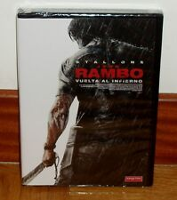 JOHN RAMBO TURNED TO THE HELL EDITION SPECIAL 2 DVD NEW SEALED ACTION R2