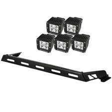 Hood Light Bar Kit With 5 Cube LEDs For Jeep 2007 To 2017 Wrangler JK 11232.05