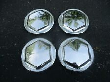 1982 to 1986 Lebaron Voyager New Yorker center caps for wire spoke hubcaps set