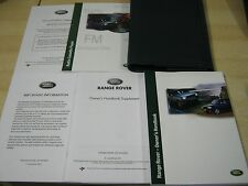 buy range rover 2004 car owner operator manuals ebay rh ebay co uk range rover 2004 hse owners manual range rover vogue 2004 owners manual