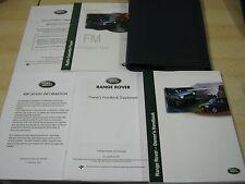 RANGE Rover P38 manuale Pack manuale d'istruzioni 1998-2004 copre il sistema radio