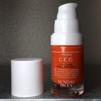 Sunday Riley C.E.O. 15% Vitamin C Brightening Serum 0.5 oz/ 15 mL Brand New