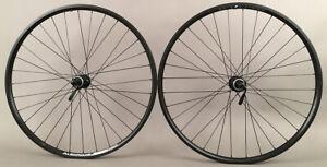 "Alex Rims Mountain Bike Wheelset 26"" Shimano Centerlock Disc or Rim Brake Black"
