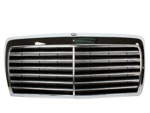 All Chrome Front Grille For Mercedes Benz W124 E-Class 300e 260e 400e 500E