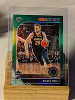 NICOLO MELLI RC 2019-20 NBA Hoops Premium Stock #242 GREEN PRIZM Rookie 🔥🏀🔥