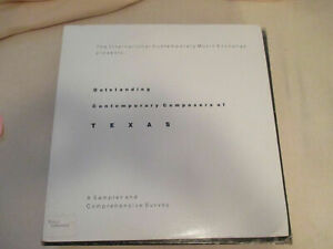 ICME Outstanding Contemporary Composers of Texas 2 LP V/A Sampler 1984