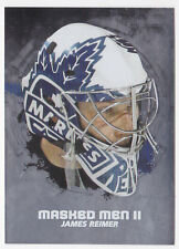09-10 ITG James Reimer Masked Men II 2 Between The Pipes 2009 Maple Leafs