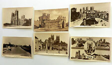 Lot Of 6 YORK, ENGLAND Postcards 1900's UNPOSTED UK Architechture Interest SET#8