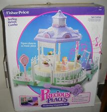#5408 NRFB Vintage Fisher Price Precious Places Twirling Melody Gazebo