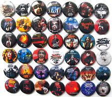 KING DIAMOND MERCYFUL FATE Button Badges Pins Abigail Them Conspiracy Lot of 42