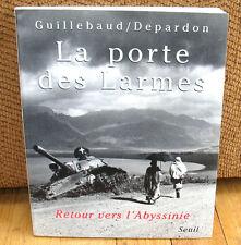 SIGNED Raymond Depardon Jean Claude Guillebaud La Porte des Larmes Ethiopia PB