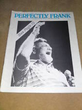 PERFECTLY FRANK -  with Frankie Laine June 1984 Issue 1
