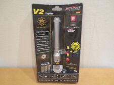 LED LENSER Taschenlampe V 2  Triplex  Zweibrüder  NEU + OVP