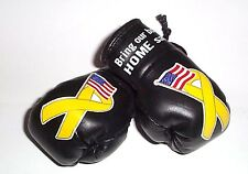 Support our Troops Mini Boxing Gloves. (Proceeds to American Red Cross Charity)