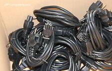 90 Stück LOT Netzteilkabel Netzkabel Stromkabel Micky Maus Kleeblatt Stecker
