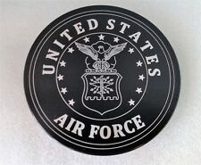 UNITED STATES AIR FORCE ALUMINUM BILLET HITCH PLUG COVER 5""
