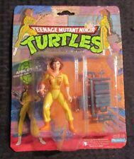 1988 Playmates APRIL O'NEIL Action Figure MOC TMNT Teenage Mutant Ninja Turtles