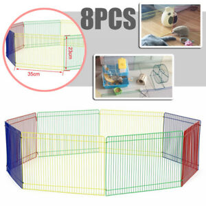 Small Animal Pet Playpen Hamster Guinea Pig Mice Gerbil Exercise Fence Pen Hutch