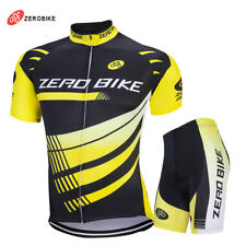 Cycling Clothing Bike Wear Short Sleeve Bicycle Jersey Shorts Set Men Sport Suit
