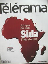2707 AFRIQUE DU SUD SIDA MICHELIN TODD STORYTELLING MARCEL OPHULS TELERAMA 2001